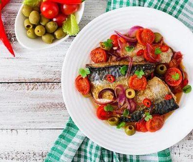 Sardine a la tomate